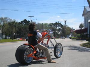 製作したカスタムバイク